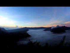 Mount Bromo Sunrise, Indonesia, Timelapse Video - OOAWORLD: Only. Original. Art.