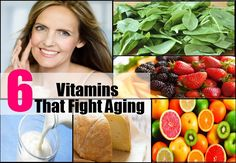 Though genetics and lifestyle factors determine the rate of aging, certain vitamins not only slow the process but also improve overall health and well-being. So read on and take years off old age.