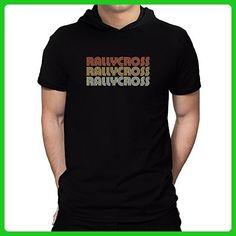 Teeburon Rallycross RETRO COLOR Hooded T-Shirt - Retro shirts (*Amazon Partner-Link)