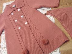Diy Crafts - Diy Crafts - paz rodriguez baby girls pink pram coat and bonnet childrensalon - PIPicStats