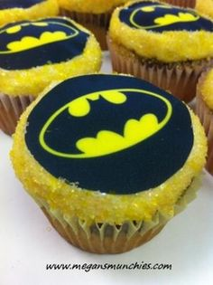 Batman Cupcakes food-blogger-support