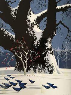 Disney animation background artist, Evind Earle: http://quintonpeeples.tumblr.com/post/135453823722/more-eyvind-earle-enjoy