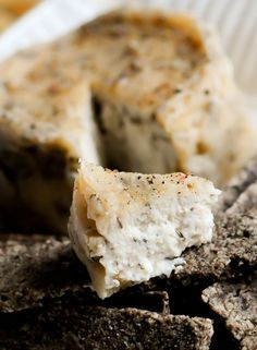 Macadamia Nut Cheese. Nut cheeses are a great item to have in your raw food recipe collection. They are tasty, easily support the addition of many herbs and spices. 14 vegan cheese recipes at site