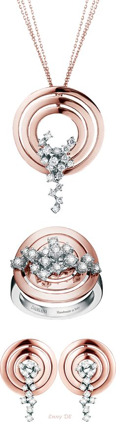 Brilliant Luxury by Emmy DE * Damiani 'Sophia Loren' Jewelry Set