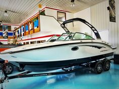 Look at this #beautiful #beast of a #boat ! Introducing the brand new #2017 #chaparral 244 Sunesta. Come see for yourself!