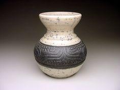 CHARLES SMITH (1949-) raku carved vessel DOUYON PROTEGE 2ND PLACE VI 2012   eBay