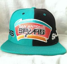 Mitchell and Ness San Antonio Spurs Cap New with Tags Wool Blend Snap Back  Hat b17064f85