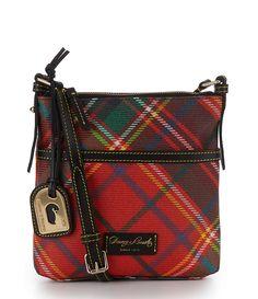 Dooney & Bourke Plaid Cross-Body Bag   Dillards.com