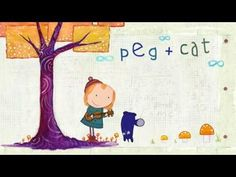PEG + CAT | In this delightful new PBS KIDS series, Peg sings songs and plays the ukulele while solving math problems in her adventures . . . Adorable.