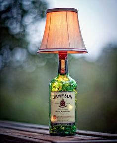 Man Cave Ideas and a Guide to a Successful Design - Man Cave Home Bar Present For Husband, Jameson Irish Whiskey, Woman Cave, Girl Cave, Man Cave Home Bar, Man Cave Garage, Liquor Bottles, Home Projects, Home Improvement
