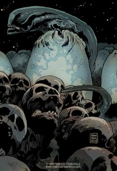 Alien by Francesco Francavilla.