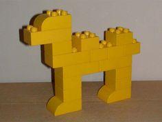 Lego animals on pinterest for Modele maison lego duplo