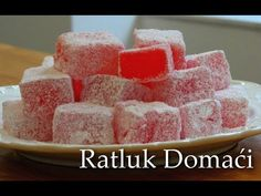 Turkish Delight from Chronicles of Narnia Recipe Rahat Lokum Recipe, Flan, Cookie Desserts, Dessert Recipes, Bridal Shower Desserts, Turkish Delight, Candy Making, Pastel, Turkish Recipes