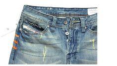 2015 hombres nuevos vaqueros dieselsrs resorte de la manera delgada pantalones vaqueros del agujero de color claro con una longitud total de la vendimia 2 Estilo en Jeans de Moda y Complementos en AliExpress.com   Alibaba Group