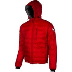 Canada GooseLodge Down Hooded Jacket - Men's WOULD WANT BLUE! Also available on amazon