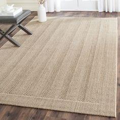Top Product Reviews for Safavieh Palm Beach Desert Sand Sisal Rug (6' x 9') - Overstock.com