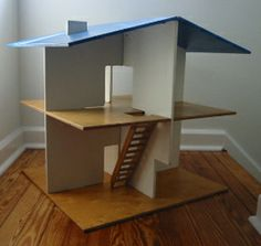 Mid Century Modern Playhouse Plans | Photo of the Naef house from Musashino Art University Museum and ...