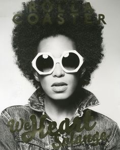 Solange on Rollercoaster Magazine