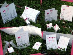"""Hochzeitskarten im Design """"Herztrend"""""""