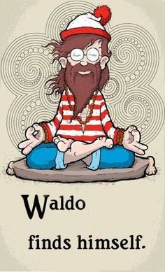 wherehappinesslives:     An important step for Waldo.