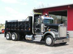 1998 Kenworth W900 Dump Truck Equipment Trailers, Logging Equipment, Heavy Construction Equipment, Heavy Equipment, Cool Trucks, Big Trucks, Tandem, Dump Trucks For Sale, Old Lorries