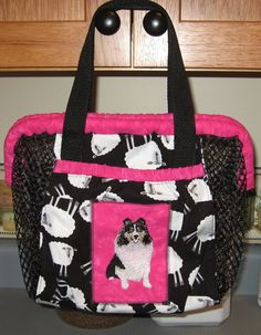 Custom Utility Article Bags For Dog Obedience Bags