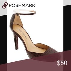 Banana Republic Oxblood Penelope Heels Chic and luxurious heels in Oxblood leather. New in box