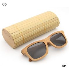 2b893cf7299 AZB new fashion 2017 products men s women glass bamboo sunglasses retro wood  lenses wooden frame