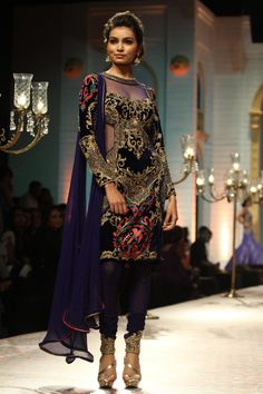 Mandira Wirk at Aamby Valley India Bridal Fashion Week 2013 in Mumbai