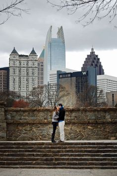 Atlanta, GA Engagement Photos // Piedmont Park