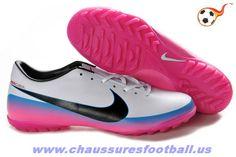 premium selection 50cf3 334a1 Nike Mercurial Glide III CR TF Blanc Noir FT2958 Nike Football Boots,  Football Cleats,
