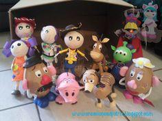 Resultado de imagen para personajes de toystory fofuchos