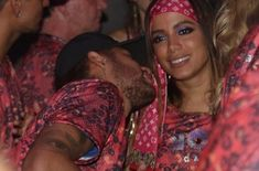 Neymar parties at Rio Carnival in Brazil as his PSG teammates prepare to face Man Utd Neymar, Bruna Marquezini, Brazil Carnival, Face Men, Paris Saint, World Famous, World Records, Psg, Samba
