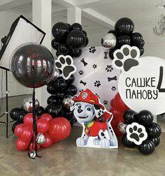 Paw Patrol Birthday Decorations, Birthday Party Themes, Cumple Paw Patrol, Custom Balloons, Paw Patrol Party, Posh Party, Balloon Decorations, Backdrops, Birthdays