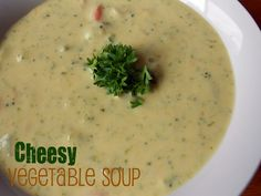 Six Sisters' Stuff: Cheesy Vegetable Chowder Recipe (Freezer Meal)