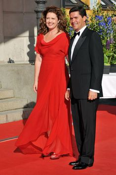Morales and Mr. Carlos Morales Quintana attend the Government Pre-Wedding Dinner for Crown Princess Victoria of Sweden and Daniel Westling at The Eric Ericson Hall on June 2010 in Stockholm, Sweden. Princess Victoria Of Sweden, Princess Estelle, Crown Princess Victoria, Pre Wedding Party, Wedding Dinner, Constantine Ii Of Greece, Greek Royalty, Greek Royal Family, Royal Monarchy