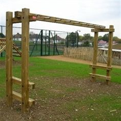 Pdf diy how to build wood monkey bars download 14000 for T shaped swing set
