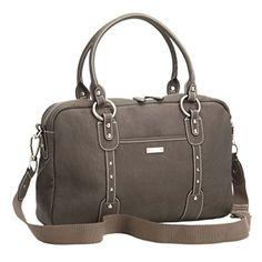 Storksak Elizabeth Diaper Bag Walnut Genuine Leather (Discontinued by Manufacturer)