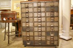 Metal drawers @ Chartreuse & Co