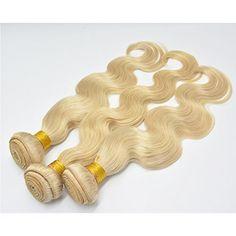 "Moresoo Tissage Bresiliens Ondules Body Waves-Cheveux Vierges et Remy blond 613# 14"" 100grammes,1bundle hair weft Moresoo http://www.amazon.fr/dp/B00UTDHHKO/ref=cm_sw_r_pi_dp_mI4Hvb0ZC25WK"