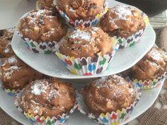 Jabłkowe babeczki z żurawiną i cynamonem Ale, Muffin, Breakfast, Food, Morning Coffee, Ale Beer, Essen, Muffins, Meals