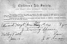 Edward Hoyt: Train Rider with Two Families Orphan Train, Train Info, Train Museum, Innocence Lost, Research Images, Genealogy, How To Remove, Children, Kids