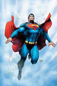 ABSOLUTE SUPERMAN: FOR TOMORROW | DC Comics, Jim Lee and Scott Williams, 2009. Majestic superman. A symbol of good.