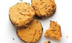 Rich, buttery, savoury.... Red Leicester Biscuits