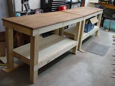 Build your own workbench plans This workbench is simple enough and cheap enough that you can make it in a morning and yet it s big By the DIY experts of The Family Handyman Magazine A basic customizable bench requires only a couple of tools a saw and a drill Click to see five DIY workbench projects you can build in a single weekend Fifteen free workbench plans that include the complete plan from start to finish These free workbench plans will help you build the workbench you ve always ...
