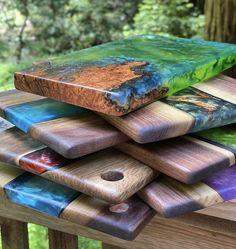 Epoxy Resin Table, Epoxy Resin Art, Diy Resin Art, Diy Resin Crafts, Wood Crafts, Diy Resin Projects, Wooden Projects, Easy Woodworking Projects, Diy Resin Table