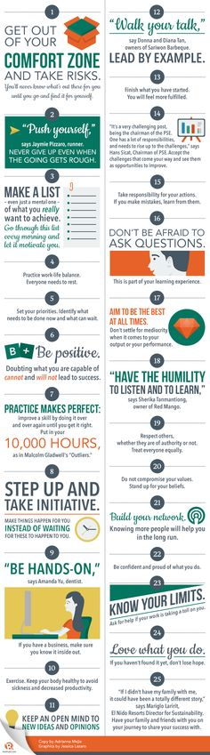 25 tips to be successful