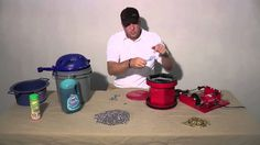 HOW TO - Clean Reloading Brass in a Rotary Tumbler with Stainless Steel ...