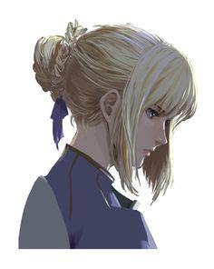 (Fate/Zero) Saber.