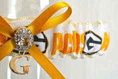 GreenBay Packers Wedding Garter. $55.00, via Etsy.